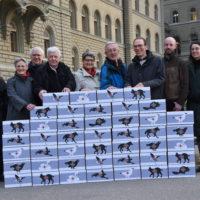 65'000 signatures contre la nouvelle Loi sur la chasse